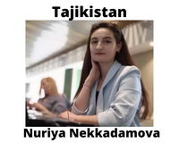 Nuriya Nekkadamova, INSTITUTE OF WATER PROBLEMS, HYDROPOWER ENGINEERING AND ECOLOGY in Tajikistan