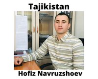Hofiz Navruzshoev, INSTITUTE OF WATER PROBLEMS, HYDROPOWER ENGINEERING AND ECOLOGY in Tajikistan