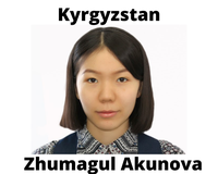 Akunova Zhumagul, Kyrgyzstan, American University in Central Asia